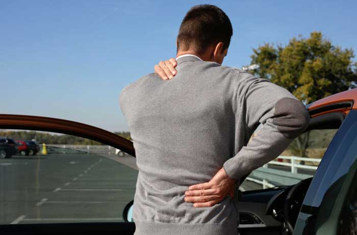 average settlement for car accident back injury