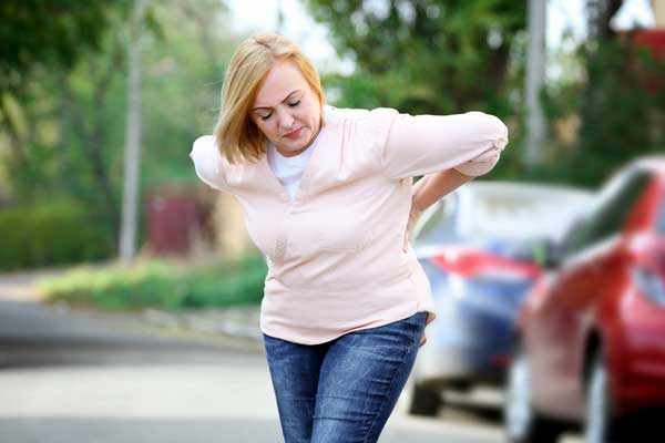 lower back pain after car accident compensation