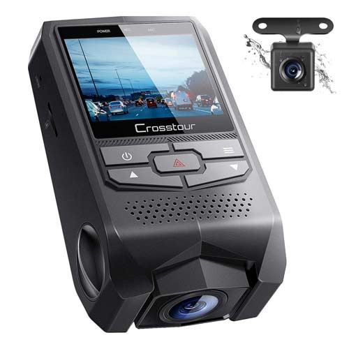 Crosstour CR600 Front and Rear Dual Dash Cam