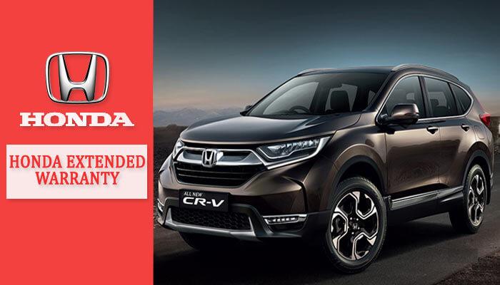 Honda Extended Warranty Cost
