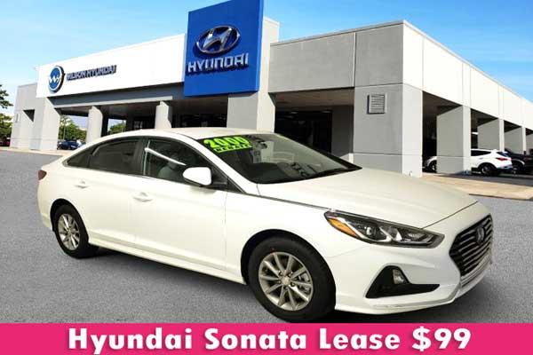 Hyundai Sonata Lease $99