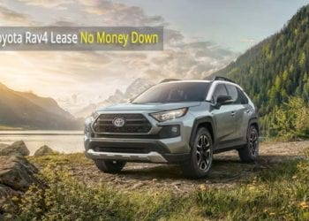 Toyota Rav4 Lease No Money Down