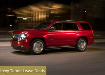 Chevy Tahoe Lease Deals