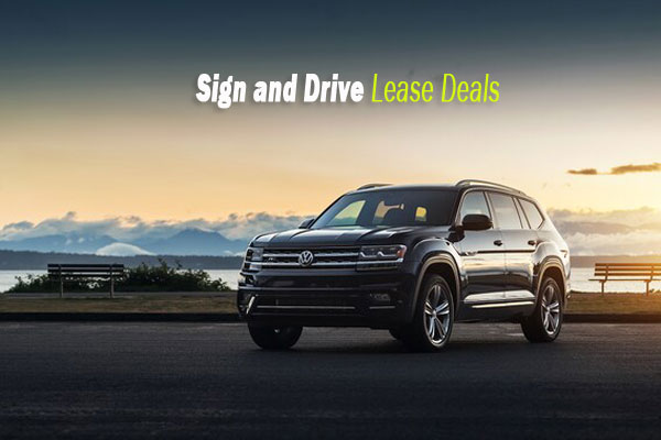 Sign and Drive Lease Deals