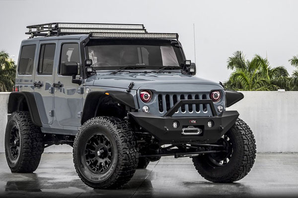 Jeep Wrangler Front Bumper