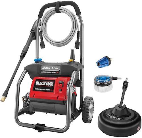 Black Max BM80721SBC 1800 PSI Electric Pressure Washer