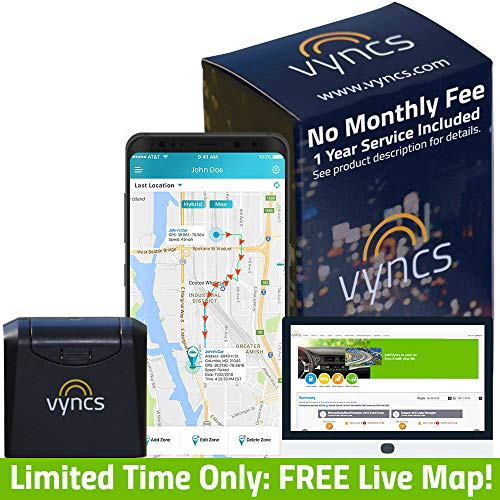 GPS Tracker Vyncs No Monthly Fee