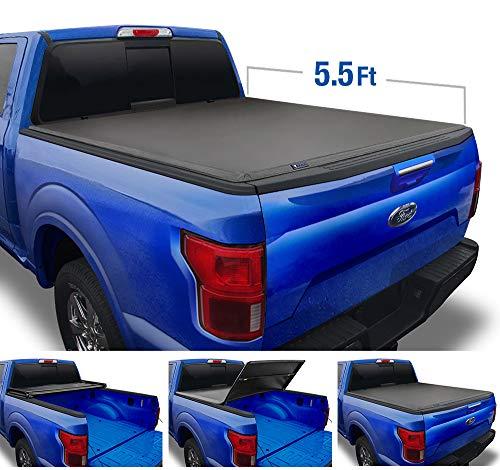 Rough Country Hard Tri-Fold F150 Tonneau Cover
