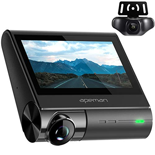 APEMAN 4K max Dash Cam with OLED Touch Screen