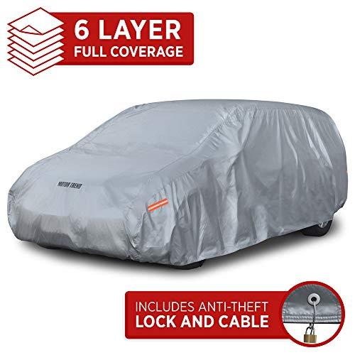 Motor Trend OV-640 TrueShield Waterproof SUV & Van Cover