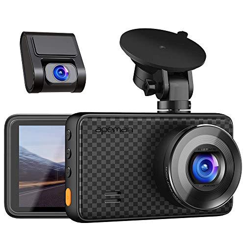 APEMAN 1440P Dual Dash Cam