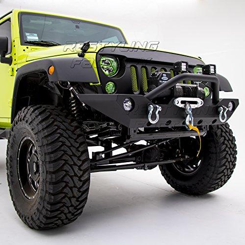 Restyling Factory Jeep Wrangler JK Front Bumper