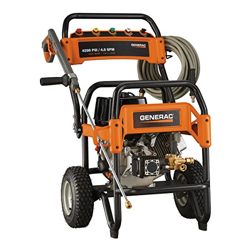 Generac 6565 Gas Powered Commercial Pressure Washer