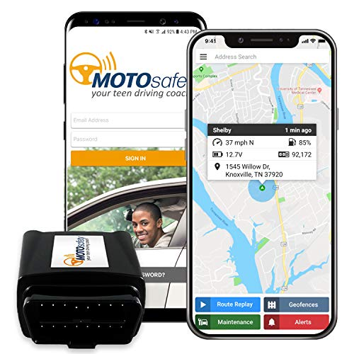 MOTOsafety 4G Real Time OBD