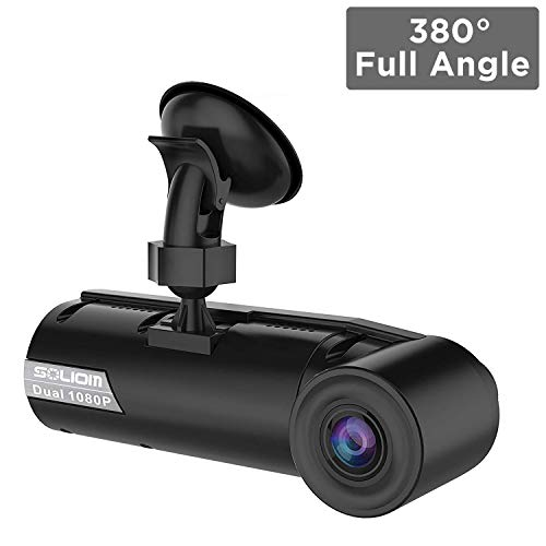 SOLIOM G1 380° Full Angle Car Dash Cam