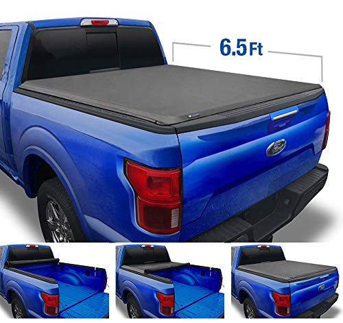 Tyger Auto Black T1 Soft Roll Up F-150 2015-2020 Ford