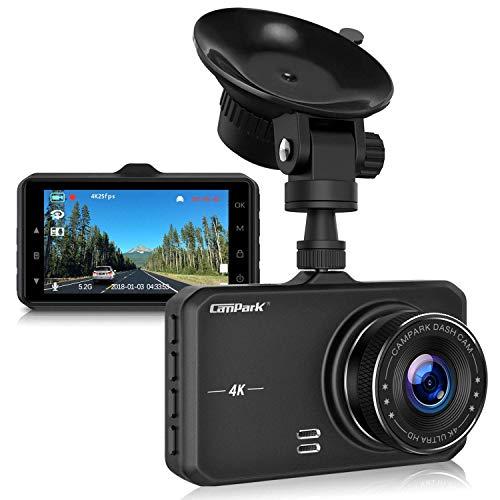 Campark 4K UHD Dash Cam