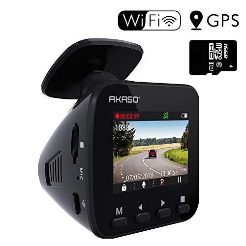 AKASO Dash Cam Wi-Fi