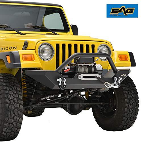 EAG Steel Front Bumper 1987-2006