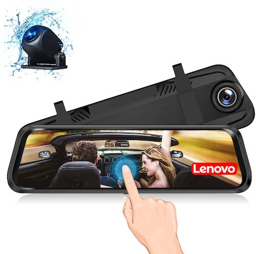 Lenovo Mirror Front and Rear Dash Cam