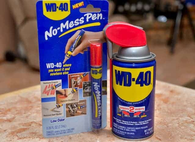Headlights Cleaner WD-40