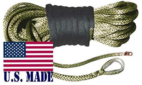 BILLET4X4 U.S. Made AMSTEEL Blue Winch Rope